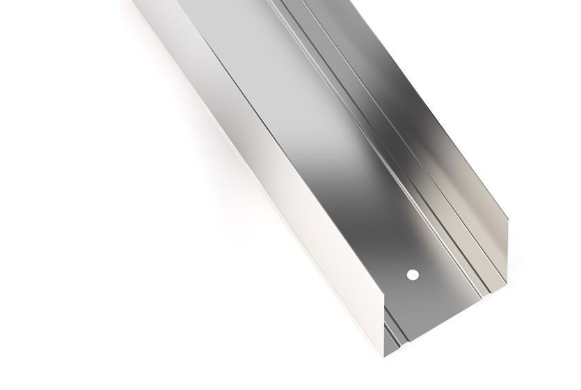 Профиль д/гипсокарт. UW 3м (50) 0.4мм