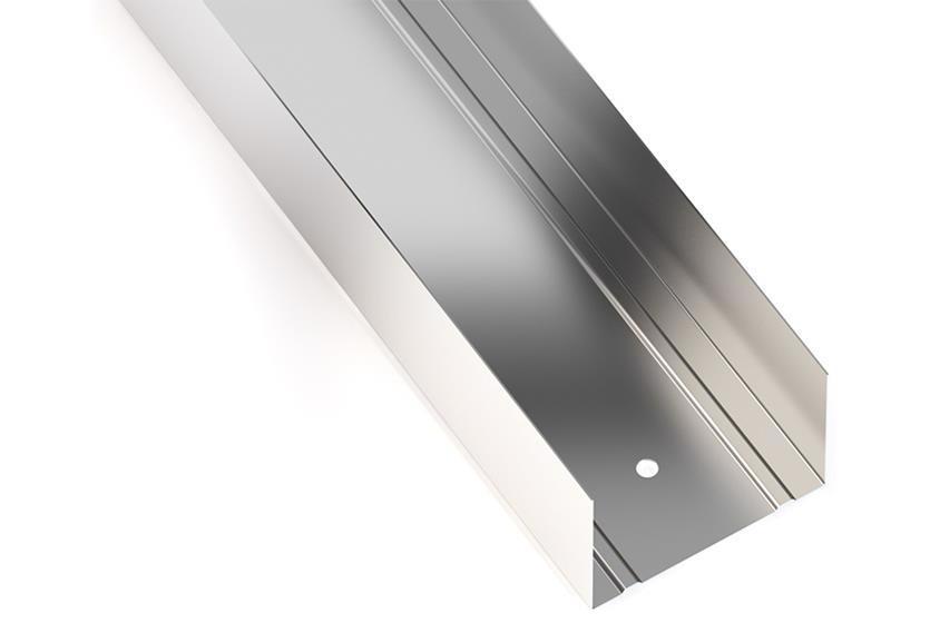 Профиль д/гипсокарт. UW 4м (75) 0.4мм