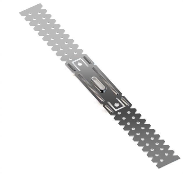 Підвіс д/профілю прямий універсальний L 125 0.5мм