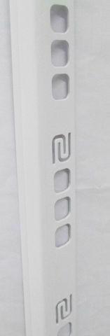 Кут д/плитки SALAG 8мм білий 01 внут.