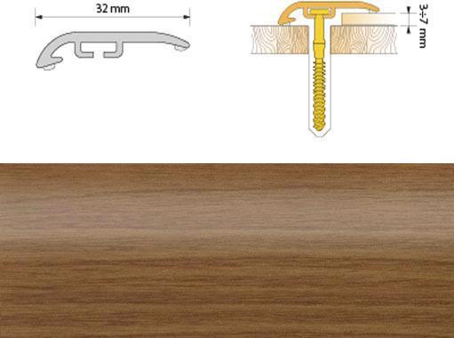 Поріжок ПВХ SALAG Cirrus С32 0.93м черешня 09