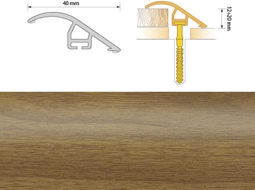 Поріжок ПВХ SALAG Cirrus С40 0.93м дуб світл. 03