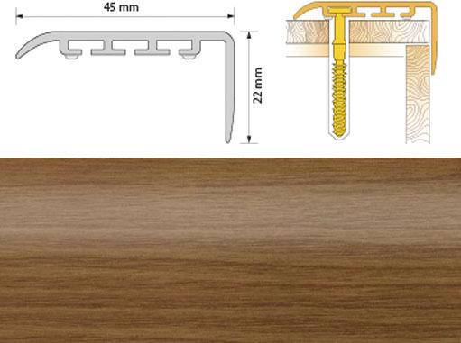 Поріжок ПВХ SALAG Cirrus С45 1.35м черешня 09