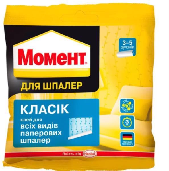 Клей шпалерний МОМЕНТ Класик 95-100г