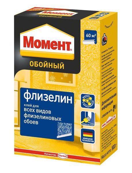 Клей шпалерний МОМЕНТ Флізелін 250г