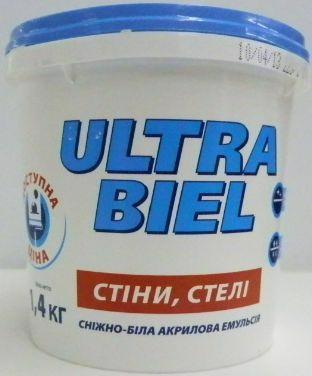 Фарба SNIEZKA Ultra biel 1.4кг(1.0л)
