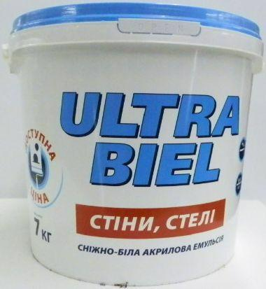 Фарба SNIEZKA Ultra biel 7.0кг(5.0л)