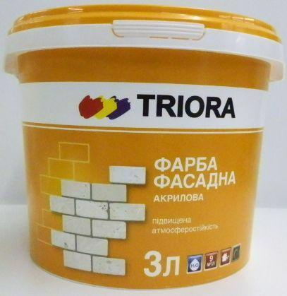 Фарба акрил. TRIORA фасадна 1.0л