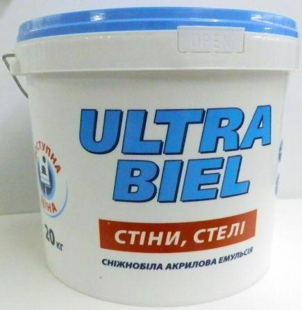 Фарба SNIEZKA Ultra biel 20.0кг(15л)
