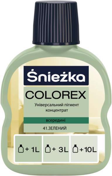 Барвник SNIEZKA Colorex 41 зелений конц. 0.1л