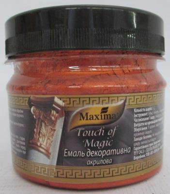 Емаль акрил. MAXIMA Touch of Magic декоратив. мідь 0.1кг