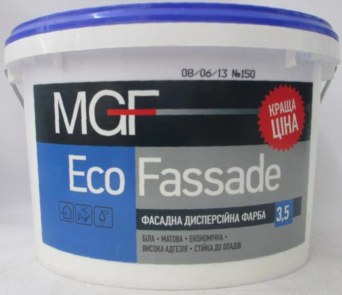Фарба фасад. MGF M-690 Eco Fassade  3.5кг