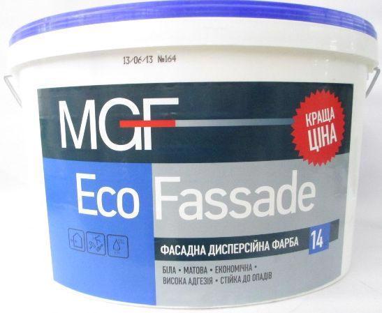 Фарба фасад. MGF M-690 Eco Fassade 14.0кг