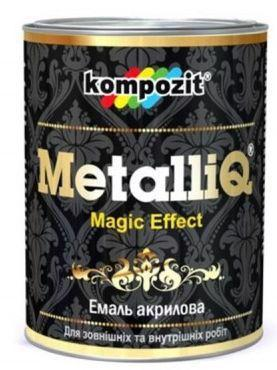 Емаль латекс. KOMPOZIT MetalliQ бронза 0.1кг