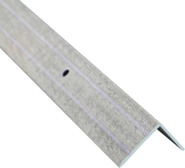 Поріжок BRAZ LINE сход. рифл. 24.5*20мм 2.7м декор. дуб вибілений BLB-5302-80-0100-З.27