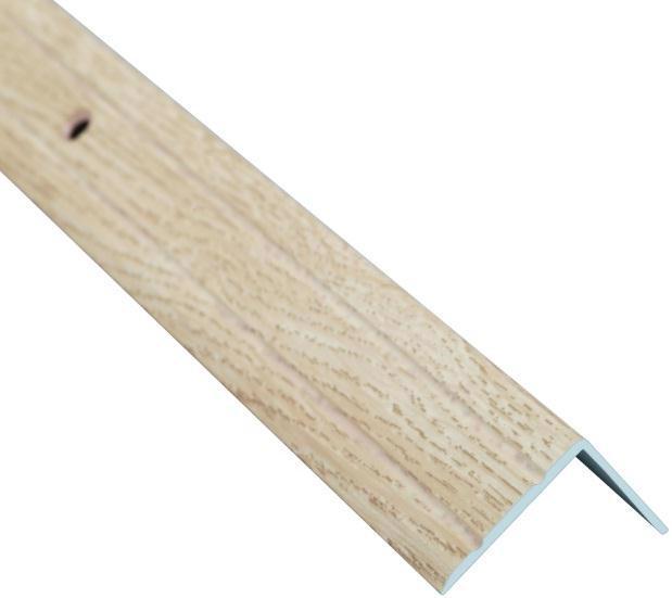 Поріжок BRAZ LINE сход. рифл. 24.5*20мм 2.7м декор. дуб капучино BLB-5302-80-0300-З.27