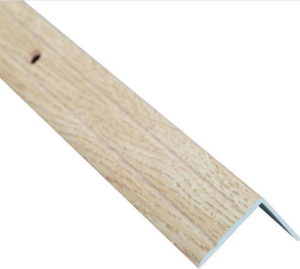 Поріжок BRAZ LINE сх. рифл. 24.5*10мм 0.9м декор. дуб капучино BLB-5301-80-0300-З.09