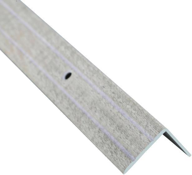 Поріжок BRAZ LINE сх. рифл. 24.5*10мм 2.7м декор. дуб вибілений BLB-5301-80-0100-З.27
