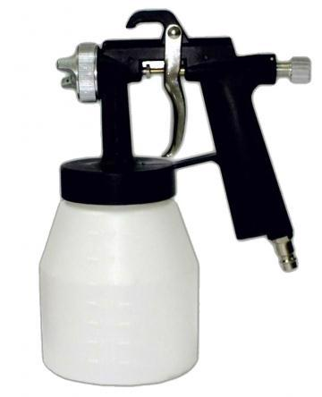 Краскопульт пневм. (1.5мм) WERK ASG-1535PS 3-4 БАР (1,0л) пласт. бак