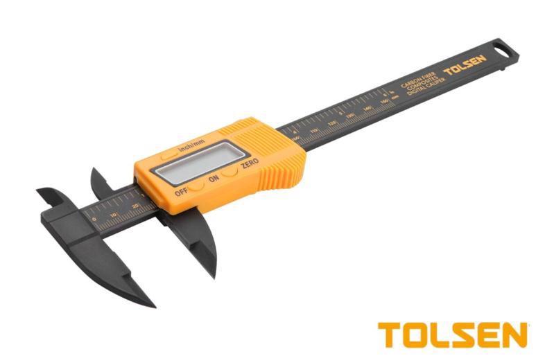 Штангенциркуль 150мм цифровий TOLSEN 35052