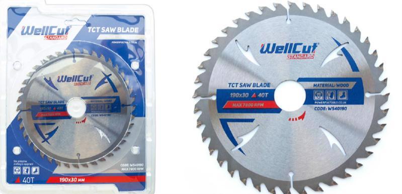 Диск пиляльний п/дереву 300*32мм 48T WELLCUT Standard WS48300
