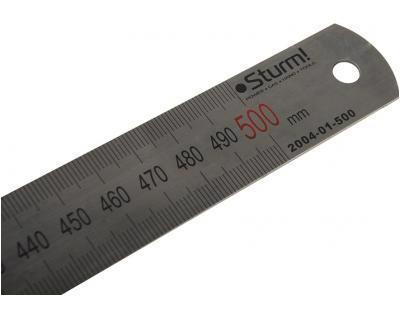 Лінійка метал. 0.5м STURM 2040-01-500