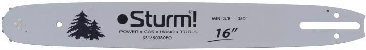 """Шина д/бензопилки STURM 16"""" 40.5см 0.050"""" 3/8"""" 56зуб. SB1650380PO"""