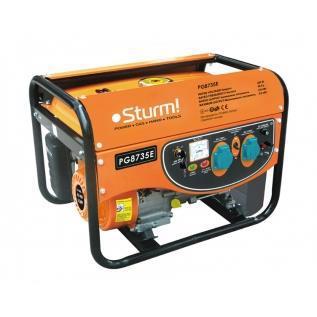 Генератор бензиновий STURM PG8735E 3.5кВт стартер