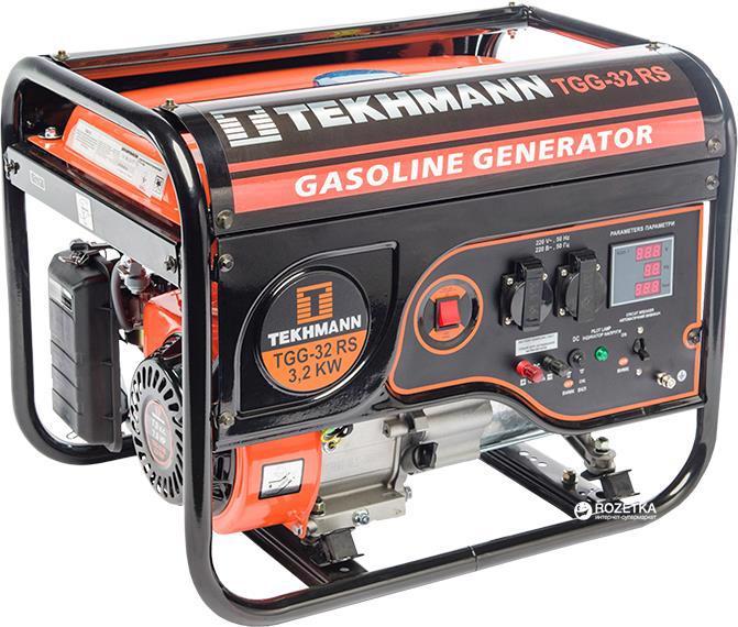 Генератор бензиновий TEKHMANN TGG-32RS, 3.0кВт, р/старт 844110