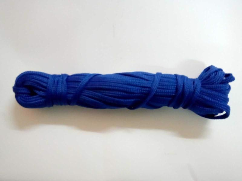 Шнур поліпропілен плетений d-3.5мм 100м б/наповнювача