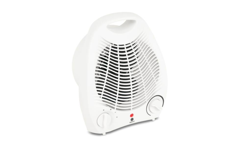 Тепловентилятор MIDAS FH-501-1 білий