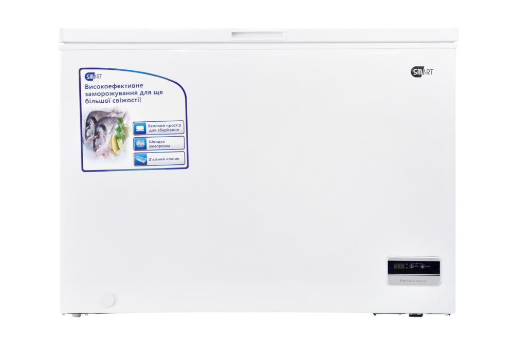 Камера морозильна SMART 295/316л горизонт. SMCF-316W біла