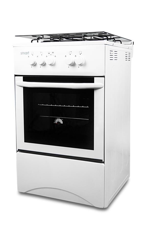 Плита газова SMART F5C40G2-W біла