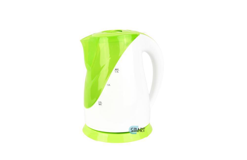 Електрочайник 1,7л диск 2200Вт SMART FX-816 біло-зелений
