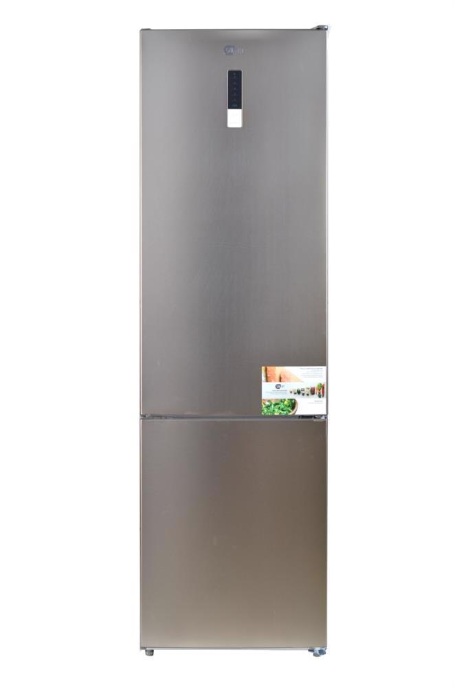 Холодильник SMART BM360WAS металік темн.