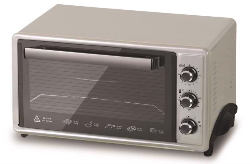 Піч єлектр. SMART 1800Вт 45л EO-3570 чорна/срібло
