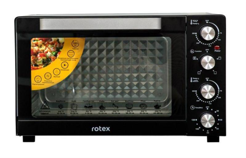 Піч електр. ROTEX 1600Вт 35л ROT350-B