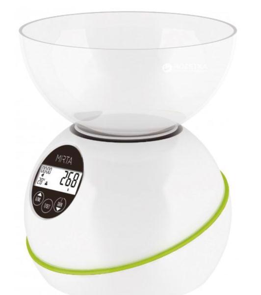 Ваги кухонні MIRTA 5кг SK-3000