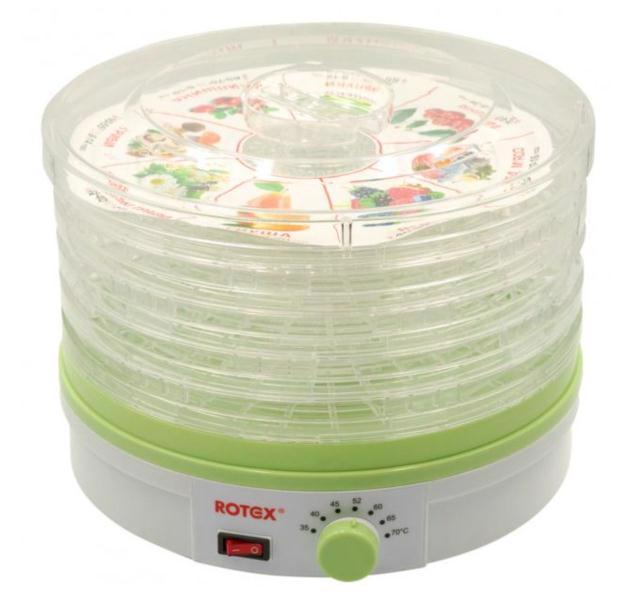 Сушка д/овочів та фруктів електр. ROTEX RD310-W