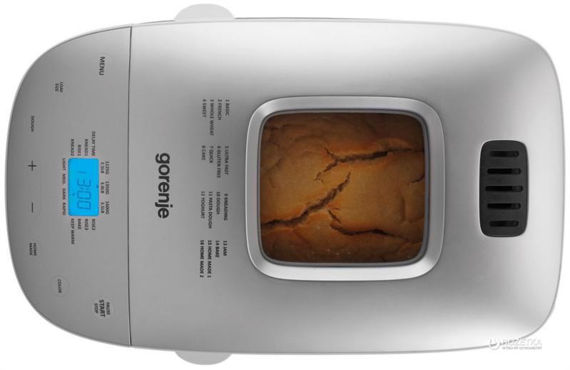 Хлібопіч GORENJE 850Вт 16пр. BM1600WG