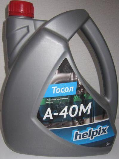 Тосол HELPIX А-40М -40С 5,0л