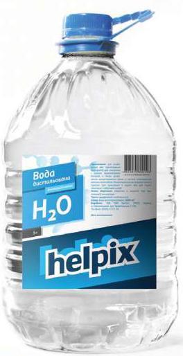 Вода дистильована HELPIX 5,0л