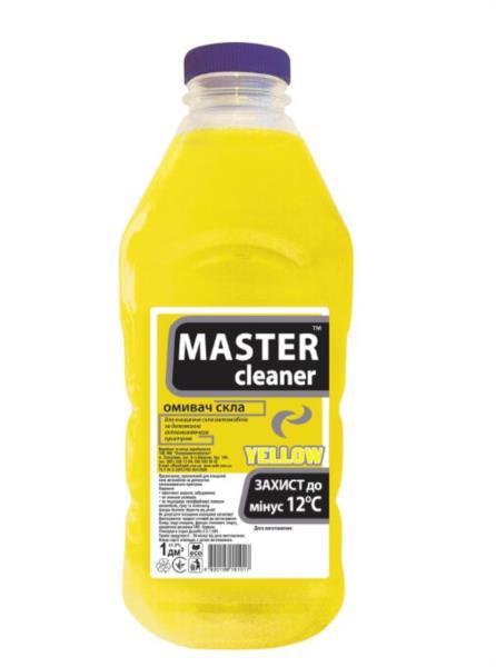 Автоочищувач скла MASTER CLEANER -12C цитрус 1л