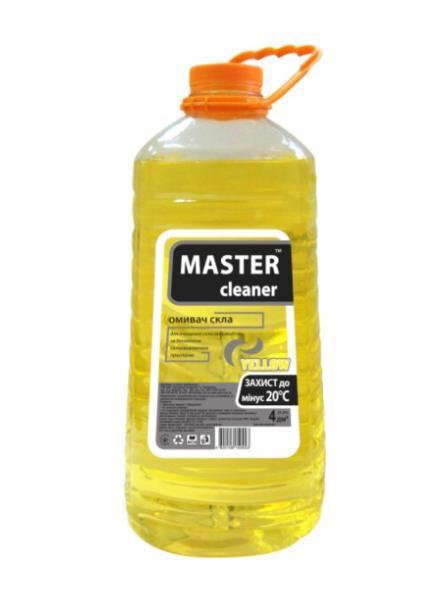 Автоочищувач скла MASTER CLEANE -20C цитрус 4л