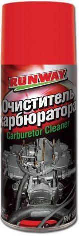 Очисник карбюратора RUNWAY 450мл RW6081 /аерозоль/