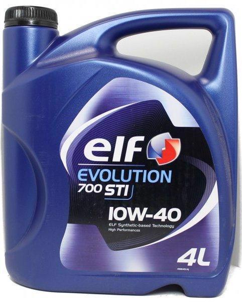 Масло моторне ELF Evolution 700 STI 10W-40 4л