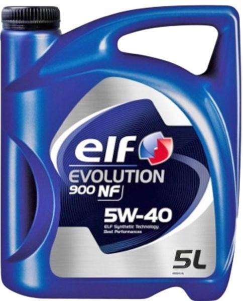 Масло моторне ELF Evolution 900 NF 5W-40 SL/CF 4л