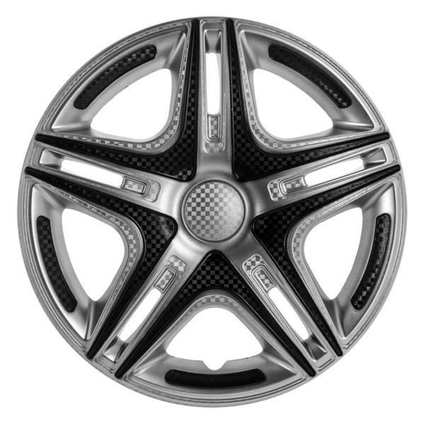 "Ковпак д/коліс авто STAR 13"" Дакар Super Silver 2шт к0000002"