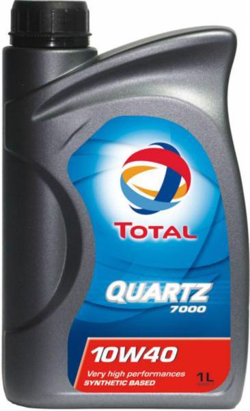 Масло моторне TOTAL Quartz 7000 10w40 1л