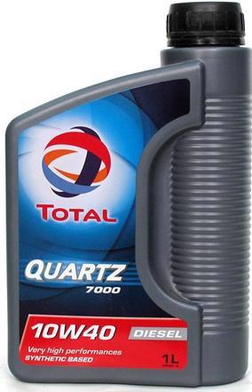Масло моторне TOTAL Quartz Diesel 7000 10w40 SL/CF 1л